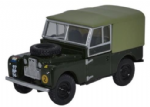 Oxford Diecast 76LAN188020 Land Rover Series 1 88'' Canvas REME